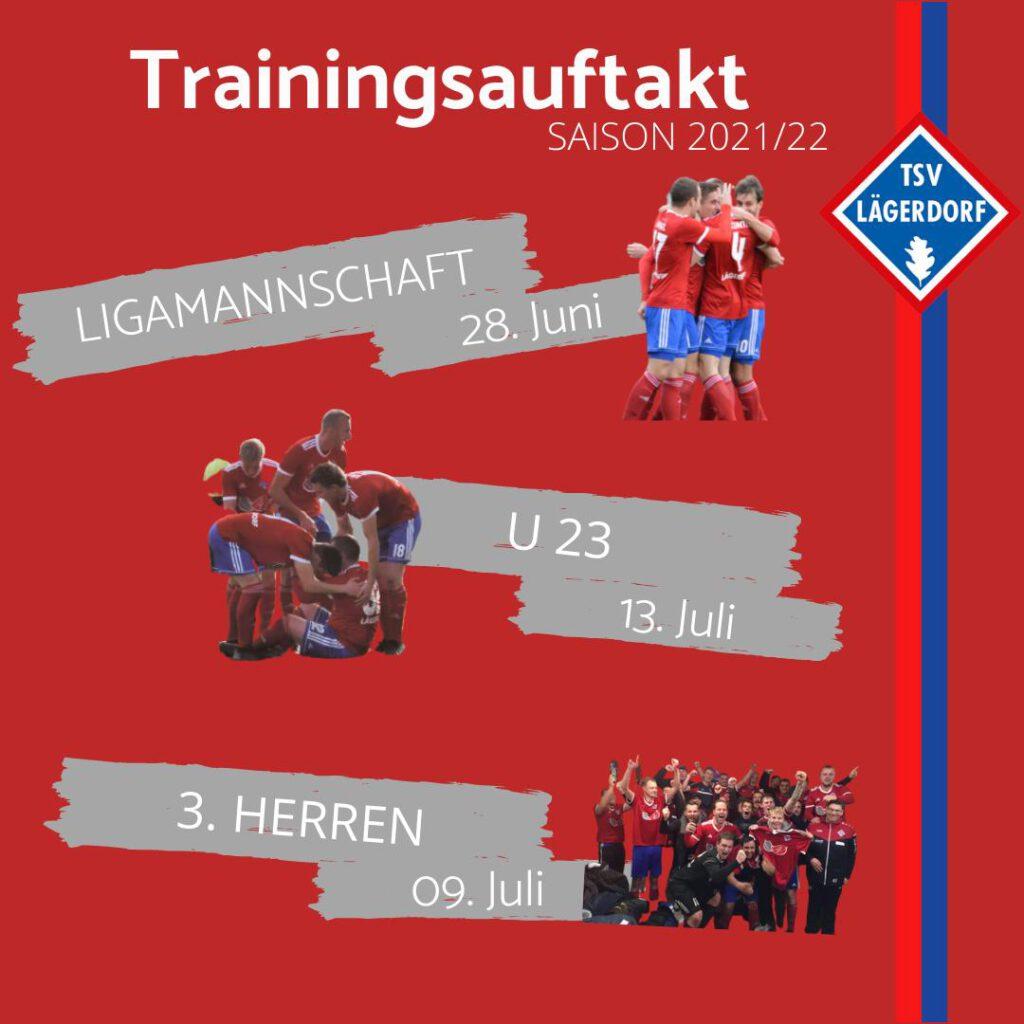 Trainingsauftakt Herrenmannschaften 2022/23
